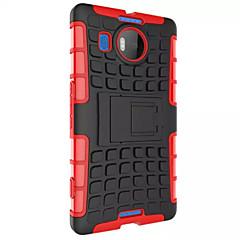 billige Etuier til Nokia-Hybrid Effekt Panser Robust Sag Stativ Dækning For Nokia Lumia 950 Taske Til Nokia 950 Tilpasset