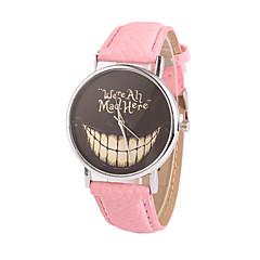 お買い得  大特価腕時計-女性用 クォーツ ドレスウォッチ カジュアルウォッチ PU バンド チャーム ファッション ブラック 白 ブルー レッド ブラウン ピンク パープル ローズ