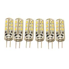 1.5W G4 LED-maïslampen T 24 leds SMD 3014 Decoratief Warm wit Koel wit 120-150lm 3000/6000K DC 12V