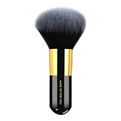 1 Cepillo para Polvos Pelo Sintético Profesional / Antibacteriano / Portable Madera Rostro MAKE-UP FOR YOU