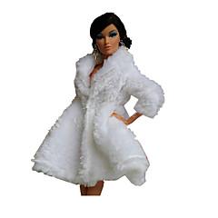 Festa/Noite Vestidos Para Boneca Barbie Blusas Para Menina de Boneca de Brinquedo