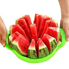 abordables Utensilios para frutas y verduras-Herramientas de cocina Acero inoxidable Cocina creativa Gadget Cutter & Slicer de las frutas 1pc
