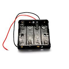 모델 자동차 / 비행기 용 1.5V 4 AA 배터리 케이스