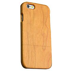 Для Кейс для iPhone 6 Кейс для iPhone 6 Plus Чехлы панели Ультратонкий Other Задняя крышка Кейс для Имитация дерева Твердый Дерево для
