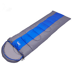 Sleeping Bag Rectangular Bag Single 0~5~+12 Hollow Cotton Keep Warm Windproof Dust Proof 190+30X75 Hiking Camping