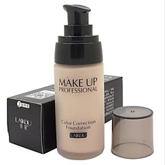 1 Foundation Våd Flydende Fugt Dekning Blegende Olie kontrol Concealer Ujævn hud Naturlig Andre porereducerende Åndbart AnsigtNaturlig