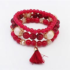 Dames Bedelarmbanden Strand Armbanden Modieus Europees Kostuum juwelen Glas Legering Sieraden Voor Bruiloft Feest Dagelijks Causaal