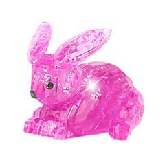 Bouwblokken Legpuzzel Kristallen puzzels Speeltjes Rabbit Nieuwigheid 56 Stuks