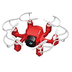 abordables Promoción PayPal-RC Dron FQ777 126C 4 Canales 6 Ejes 2.4G Con Cámara 2.0MP HD Quadccótero de radiocontrol  Retorno Con Un Botón / Modo De Control Directo / Vuelo Invertido De 360 Grados Quadcopter RC / Mando A