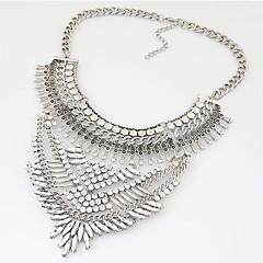 preiswerte Halsketten-Damen Kragen / Statement Ketten - Harz, Strass Erklärung, Luxus, Retro Silber, Golden Modische Halsketten Für Party, Alltag, Normal