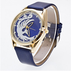 Women's 3D Hollow Engraving Phoenix Luxury Leather Brand Quartz Wristwatch Fashion Watches(Assorted colors) Cool Watches Unique Watches
