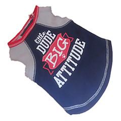 お買い得  犬用ウェア&アクセサリー-犬 Tシャツ 犬用ウェア 文字&番号 ダークブルー コットン コスチューム ペット用