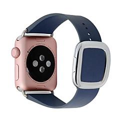 abordables Ofertas Semanales-Ver Banda para Apple Watch Series 4/3/2/1 Apple Hebilla Moderna Cuero Auténtico Correa de Muñeca