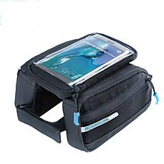 ROSWHEEL® Bisiklet Çantası 1.5LBisiklet Çerçeve Çantaları Su Geçirmez Fermuar / Nemgeçirmez / Darbeye Dayanıklı / GiyilebilirBisikletçi