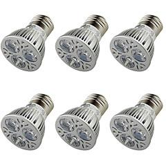 Χαμηλού Κόστους Λαμπτήρες LED-E26/E27 LED Σποτάκια A50 3 leds LED Υψηλης Ισχύος Διακοσμητικό Θερμό Λευκό 250lm 3000K AC 110-130 AC 85-265 AC 220-240 AC 100-240V