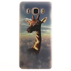 Varten Samsung Galaxy kotelo IMD Etui Takakuori Etui Eläin Pehmeä TPUTrend 3 / J7 (2016) / J5 (2016) / J5 / J1 (2016) / J1 Ace / J1 /