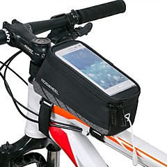 ROSWHEEL® Bisiklet Çantası 1.5LBisiklet Çerçeve Çantaları Su Geçirmez / Su Geçirmez Fermuar / Darbeye Dayanıklı / GiyilebilirBisikletçi
