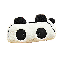 preto e branco bonita tecido panda multiuso carteira (1 peça)