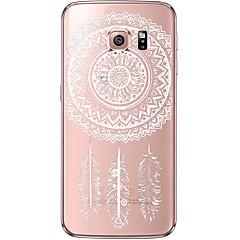 tanie Galaxy S6 Etui / Pokrowce-Na Samsung Galaxy S7 Edge Przezroczyste / Wzór Kılıf Etui na tył Kılıf Łapacz snów Miękkie TPU SamsungS7 edge / S7 / S6 edge plus / S6