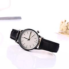 preiswerte Armbanduhren für Paare-Damen Armbanduhr Armbanduhren für den Alltag Leder Band Charme / Modisch Schwarz / Braun / Ein Jahr / Tianqiu 377