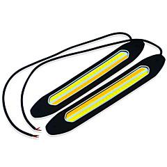 Недорогие Дневные фары-2pcs Автомобиль Лампы 2*4W COB Задний свет / Декоративное освещение / Подсветка двери