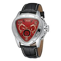 preiswerte Tolle Angebote auf Uhren-WINNER Herrn Armbanduhr Mechanische Uhr Automatikaufzug Schwarz Kalender Analog Luxus - Schwarz Gelb Rot / Edelstahl