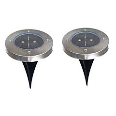 6W LED Ηλιακά Φώτα 200 lm Θερμό Λευκό Dip LED Μπαταρία V 2 τμχ