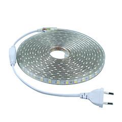 お買い得  LED ストリングライト-フレキシブルLEDライトストリップ 300 LED 温白色 ホワイト グリーン ブルー レッド カット可能 220-240V