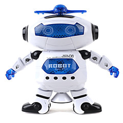 cheap Other RCs-Robot LED Lighting Toys Music Singing Dancing Walking 360° Rotation Multi Function ABS Girls' Boys' 1 Pieces