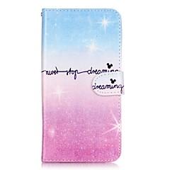 Тело бумажник шок флип градиент цвета бумажник чехол для Samsung Galaxy Примечание 5 края примечании 5