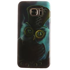 abordables Galaxy S3 Mini Carcasas / Fundas-Funda Para Samsung Galaxy Samsung Galaxy S7 Edge Diseños Funda Trasera Animal Suave TPU para S7 edge / S7 / S6 edge