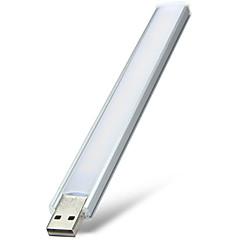 Festoon מנורות שולחן צינור 16 נוריות SMD דקורטיבי לבן חם לבן קר 250-300lm 2800-3200/6000-6500K <5V