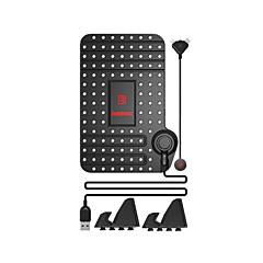 Χαμηλού Κόστους Στηρίγματα & Βάσεις-Βάση στήριξης τηλεφώνου stand stand stand αυτοκινήτου με πλαστικό προσαρμογέα για κινητό τηλέφωνο iphone 8 7 samsung galaxy s8 s7