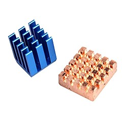 お買い得  センサー-ラズベリーパイbのヒートシンクを冷却銅アルミ+; 2ヒートシンクのラズベリーパイ2 RPIセット