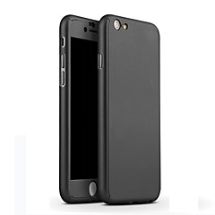 abordables Adhesivos Skin para iPhone-Funda Para Apple iPhone 6 Carcasas de Cuerpo Completo Animal Dura Cuero de PU para Apple