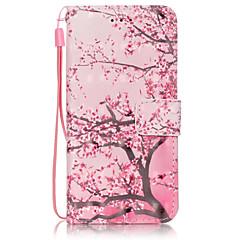 Недорогие Кейсы для iPhone-Кейс для Назначение Apple iPhone 6 Plus / iPhone 6 Кошелек / Бумажник для карт / со стендом Чехол дерево Твердый Кожа PU для iPhone 6s Plus / iPhone 6s / iPhone 6 Plus