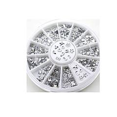 proiectat transparent Postituri salon Diamante stras de cristal unghii sfaturi decal glitters decoratiuni diy