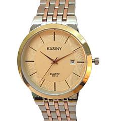 preiswerte Tolle Angebote auf Uhren-Herrn Armbanduhr Armbanduhren für den Alltag Edelstahl Band Charme / Modisch Silber