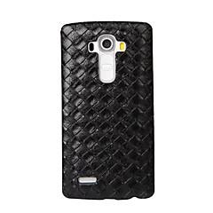 Недорогие Чехлы и кейсы для LG-Кейс для Назначение LG LG K10 LG K7 LG G5 LG G4 Кейс для LG Рельефный Кейс на заднюю панель Геометрический рисунок Твердый Кожа PU для