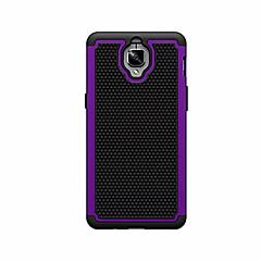 お買い得  その他のケース-ケース 用途 OnePlus ワンプラス3 OnePlusケース 耐衝撃 バックカバー 純色 ハード PC のために One Plus 3 OnePlus