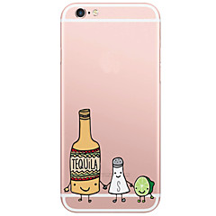 Voor iPhone X iPhone 8 iPhone 6 iPhone 6 Plus Hoesje cover Patroon Achterkantje hoesje Fruit Hard PC voor Apple iPhone X iPhone 7s Plus