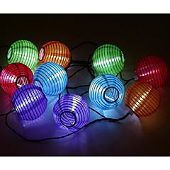 お買い得  LED ストリングライト-3M ストリングライト 10 LED 3528 SMD ホワイト 防水 / 充電式 <5 V / # / IP65