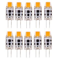 1W G4 LED betűzős izzók T 1 led COB Vízálló Dekoratív Meleg fehér Hideg fehér Természetes fehér 100-150lm 3000-6000K DC 12 AC 12 AC 24 DC