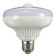 halpa LED-lamput-800-1300 lm B22 / E26 / E27 LED-älyvalot A90 12 LED-helmet Teho-LED Tunnistin / Infrapunasensori Lämmin valkoinen 85-265 V