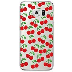Varten Samsung Galaxy S7 Edge Läpinäkyvä / Kuvio Etui Takakuori Etui Hedelmä Pehmeä TPU SamsungS7 edge / S7 / S6 edge plus / S6 edge / S6