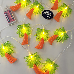 billige LED-stribelys-10 lysdioder Varm hvid Vandtæt <5V