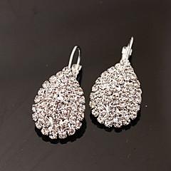 Γυναικεία Κουμπωτά Σκουλαρίκια Κρεμαστά Σκουλαρίκια Μοντέρνα κοσμήματα πολυτελείας κοστούμι κοστουμιών Στρας Προσομειωμένο διαμάντι Κράμα