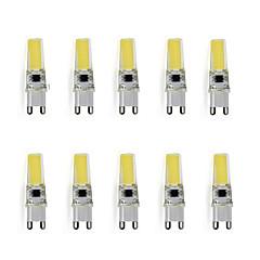preiswerte LED-Birnen-3 W 150-200 lm G9 LED Doppel-Pin Leuchten T 1 LED-Perlen Hochleistungs - LED Dekorativ Warmes Weiß / Kühles Weiß 220-240 V / 10 Stück