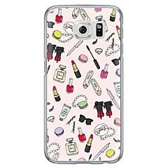 olcso Galaxy S6 Edge tokok-Mert Samsung Galaxy S7 Edge Ultra-vékeny / Áttetsző Case Hátlap Case Other Puha TPU SamsungS7 edge / S7 / S6 edge plus / S6 edge / S6 /