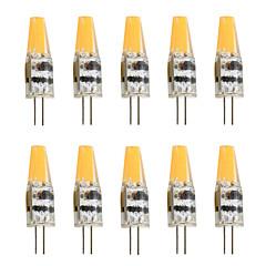 2W G4 Luminárias de LED  Duplo-Pin T 1 COB 200-250 lm Branco Quente Branco Frio K Decorativa AC 12 V
